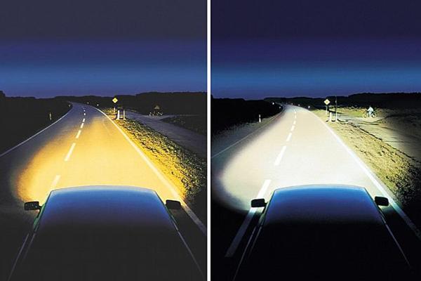 Освещенность автодорог